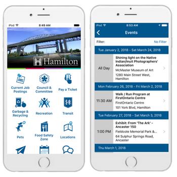 hamilton mobile app