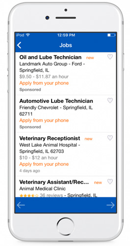 city job mobile app