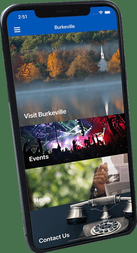 Info Grove Burkeville Screenshot