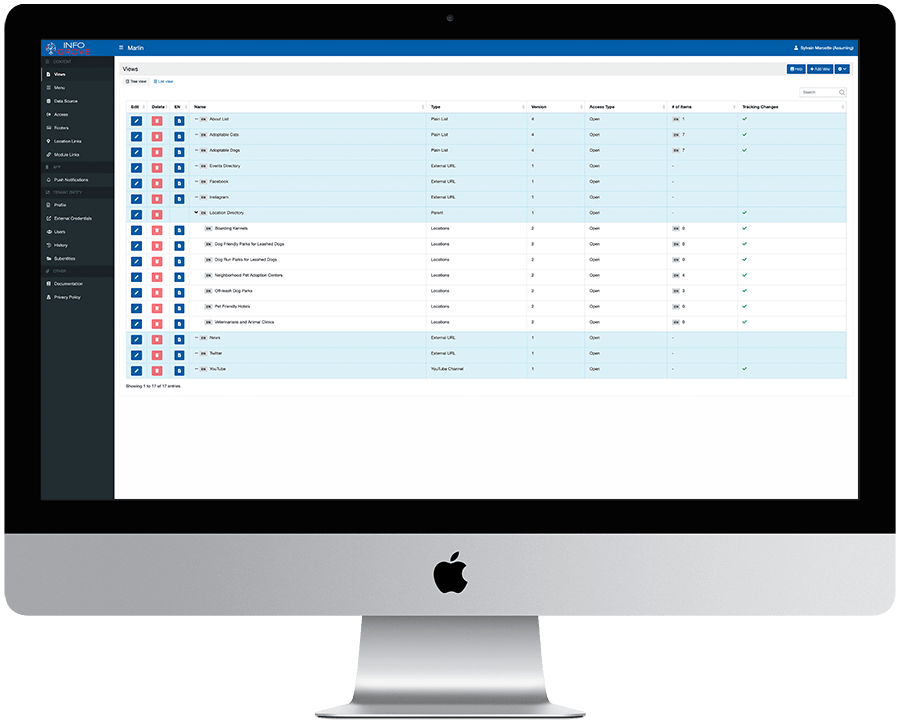 Info Grove Content Management System