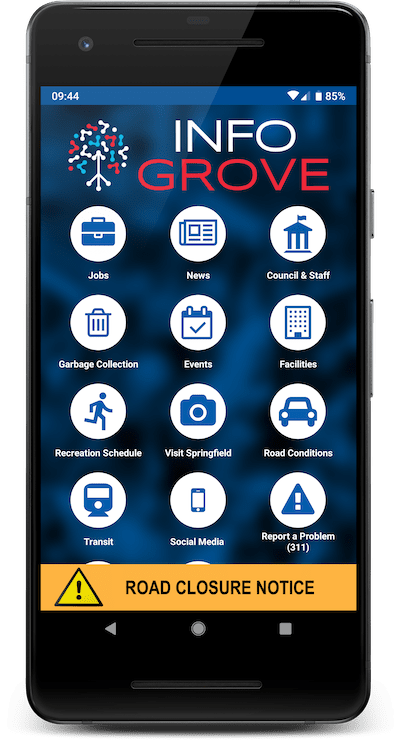 Info Grove Features