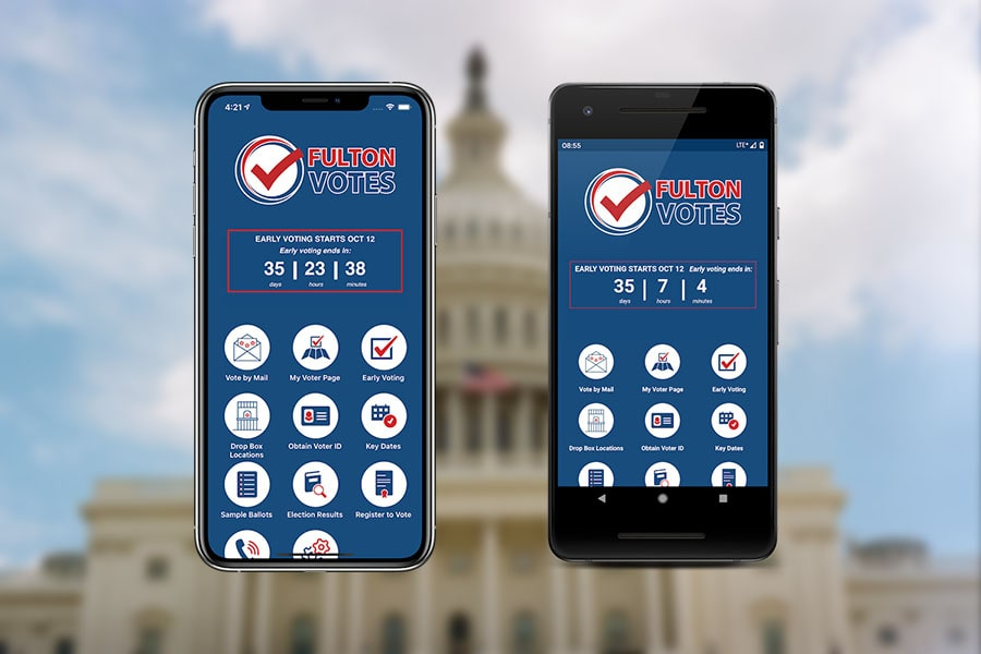 Fulton County Georgia Launches Fulton County Votes App!