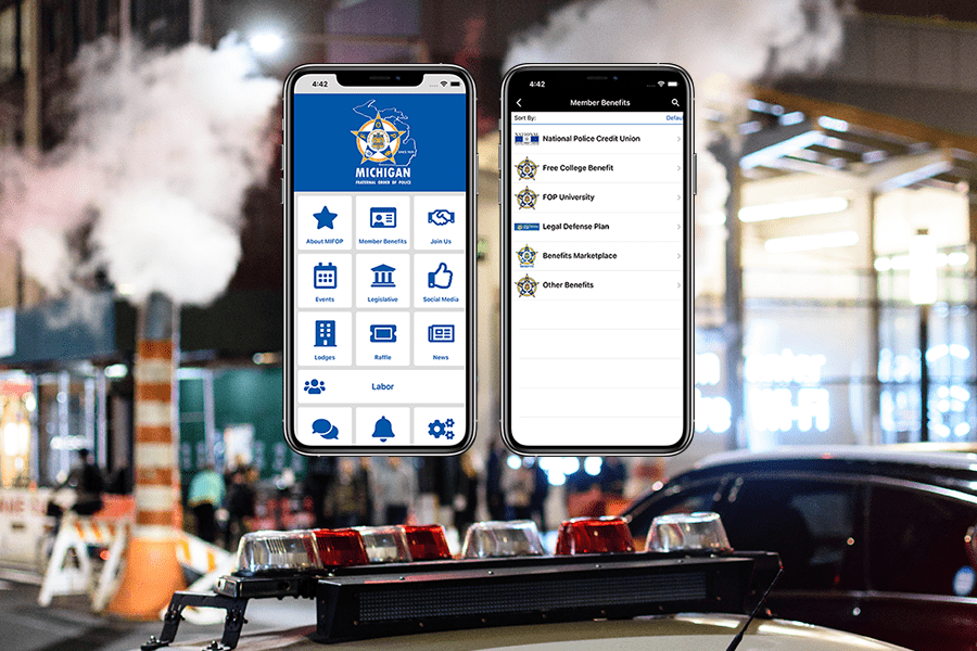 Michigan Fraternal Order of Police Launches New App!
